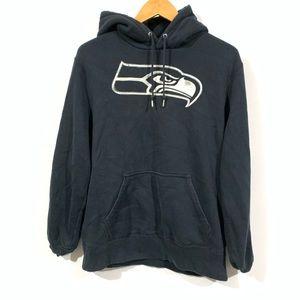 Nike seatle seahawks athletic hoodie